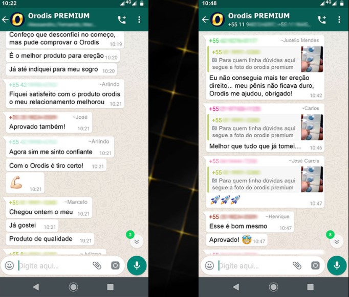 Orodis up Premium depoimentos
